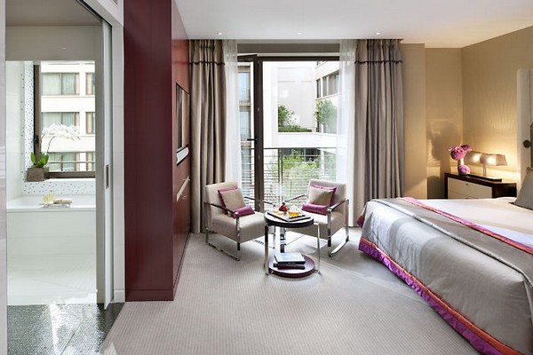 Mandarin Oriental Paris Hotel Deluxe Room photo