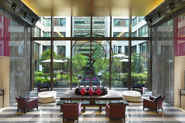 Mandarin Oriental Paris Hotel Lobby photo