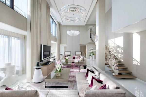Mandarin Oriental Paris Hotel Royale Mandarin Living Room photo