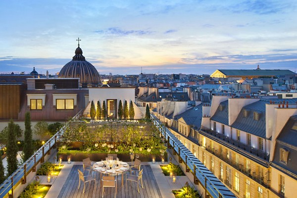 Mandarin Oriental Paris Hotel Royale Oriental Suite Terrace photo