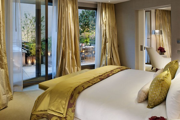 Mandarin Oriental Paris Hotel Terrace Suite Bedroom photo
