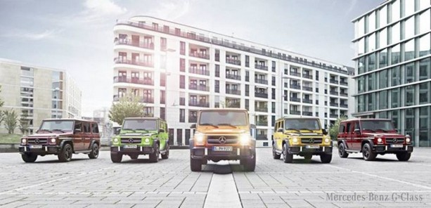 Mercedes-Benz Presents G63 & G65 AMG in 'Crazy Color Edition'