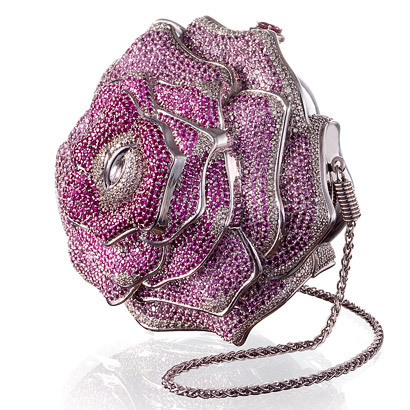 Most Expensive Purses in the World - 6. Leiber Precious Rose Bag