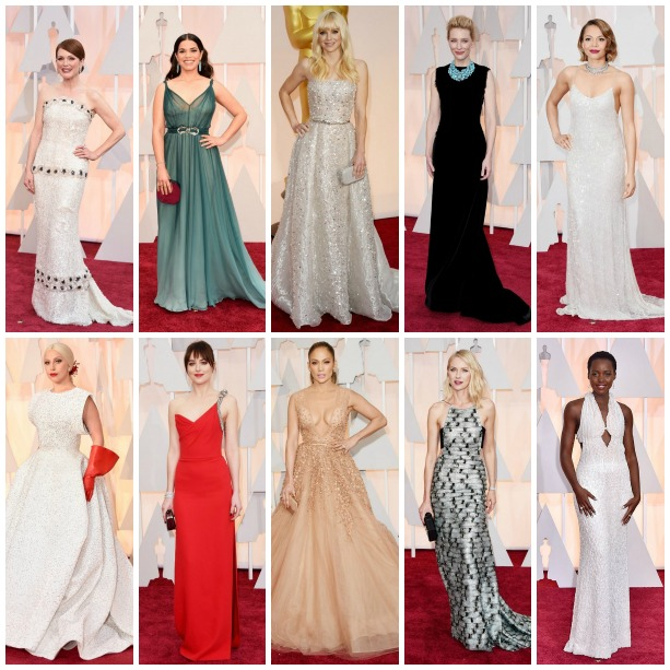Oscars 2015 Fashion