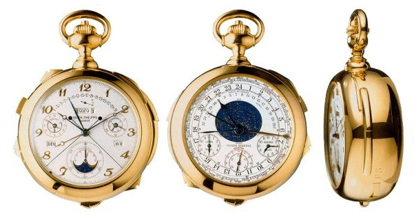Patek Philippe's Supercomplication -  million