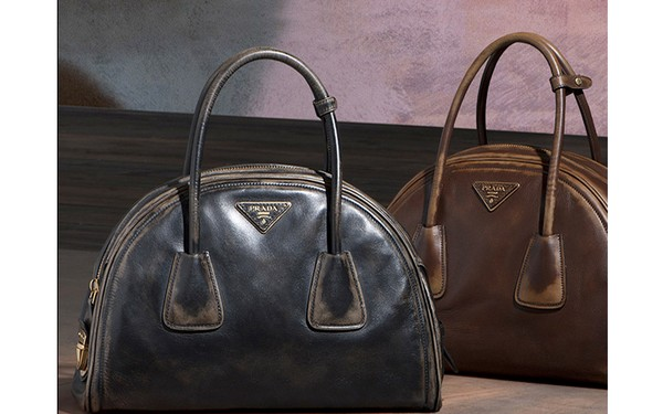 Prada Vintage Calf Leather Tote Bag - New Fall-Winter 2013 Collection photo-001