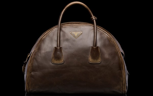 Prada Vintage Calf Leather Tote Bag - New Fall-Winter 2013 Collection photo-1