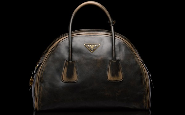 Prada Vintage Calf Leather Tote Bag - New Fall-Winter 2013 Collection photo-2