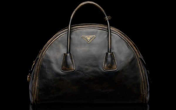 Prada Vintage Calf Leather Tote Bag - New Fall-Winter 2013 Collection photo-4