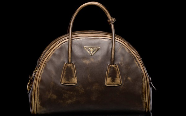 Prada Vintage Calf Leather Tote Bag - New Fall-Winter 2013 Collection photo-5