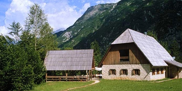 Pristava Lepena Alpine Lodge near Bovec, Soca Valley, Slovenia photo 1
