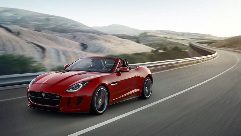 Salsa Red F-TYPE S Convertible