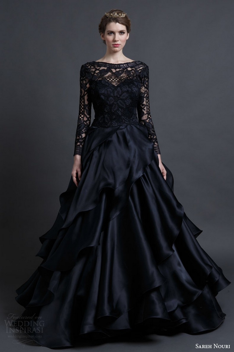 25 Glamorous Black Wedding Dresses Luxury Pictures