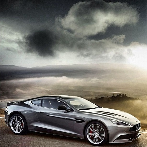 Simply beautiful Aston Martin Vanquish