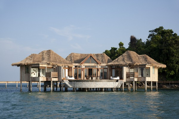 Song Saa Private Island Luxury Resort in Sihanoukville, Cambodia photo 1 - bedroom over water villas