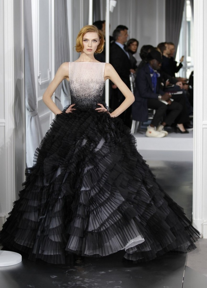 25 glamorous black wedding dresses black wedding dress Splendid Black Wedding Dress