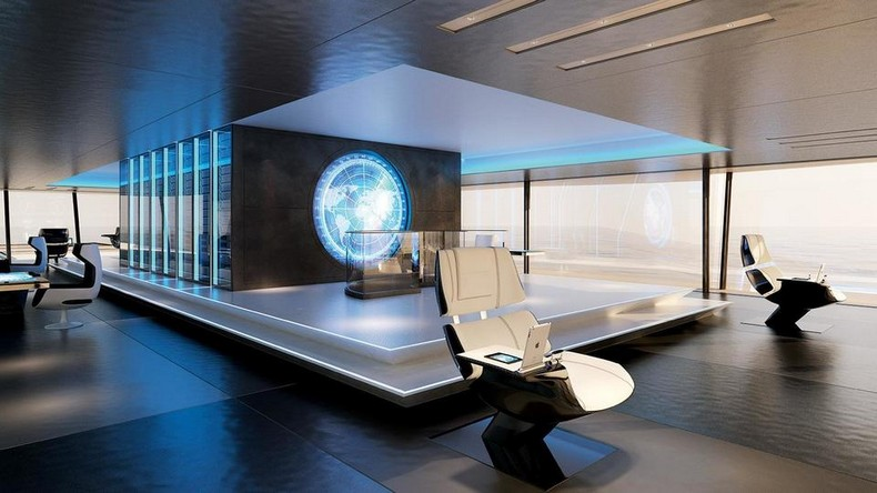 Super yacht of the future - Dutch design firm presents SYMMETRY Bi-Directional Concept Yacht 4