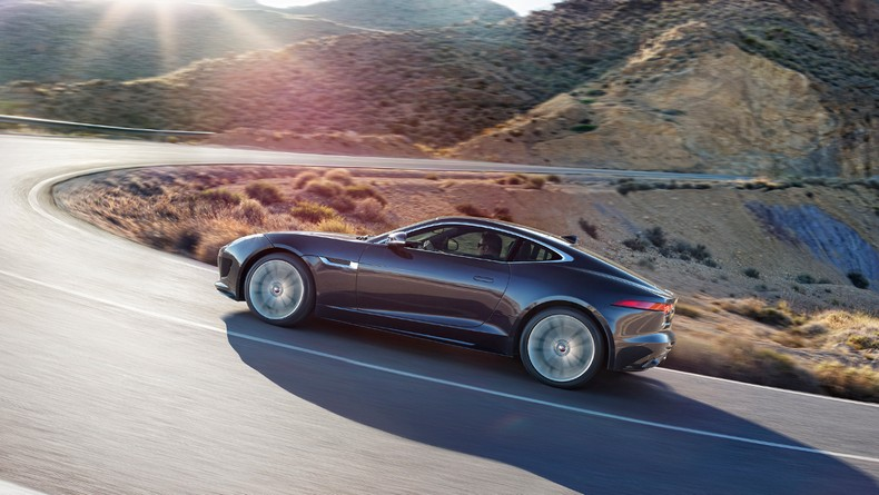 The 2016 F-TYPE S AWD supplies 380 HP and impeccable grip