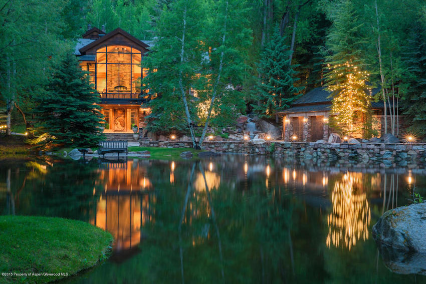 The pond house ultra luxurious million mansion in for Most expensive homes in colorado