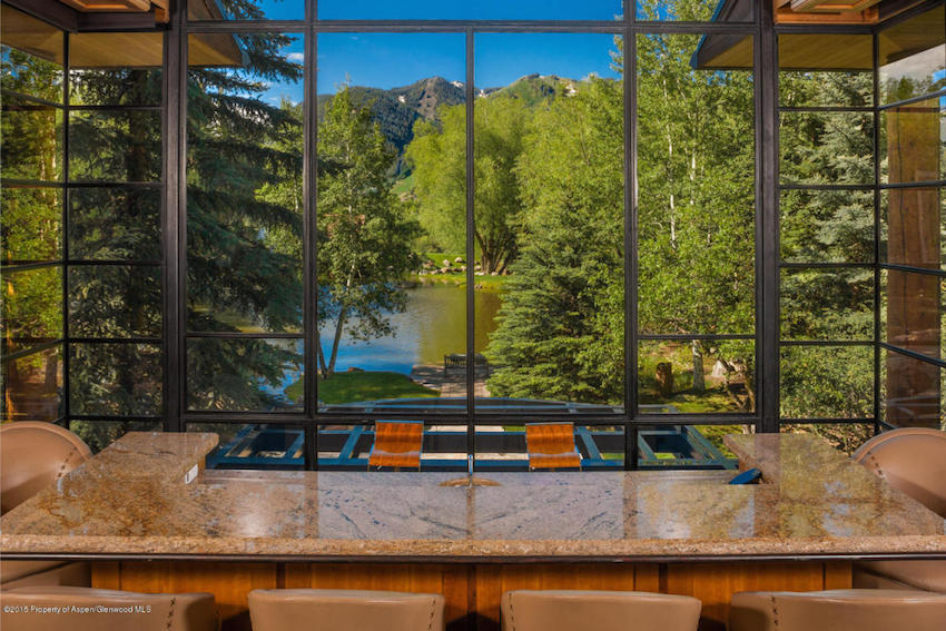 The Pond House - Ultra Luxurious .75 Million Mansion in Aspen, Colorado 27