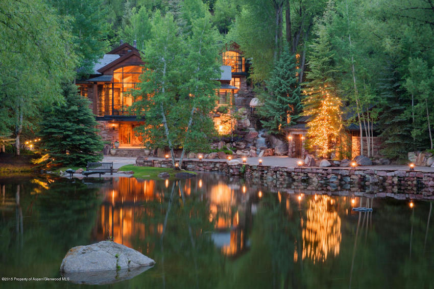 The Pond House - Ultra Luxurious .75 Million Mansion in Aspen, Colorado 34