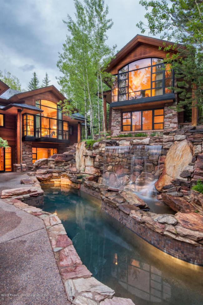 The Pond House - Ultra Luxurious .75 Million Mansion in Aspen, Colorado 4