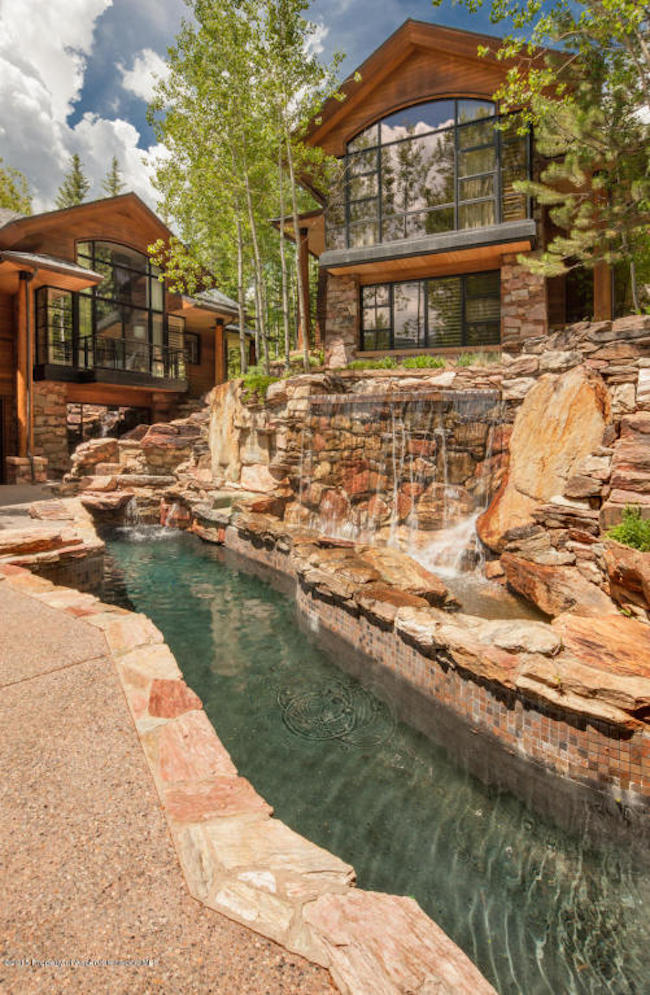 The Pond House - Ultra Luxurious .75 Million Mansion in Aspen, Colorado 5