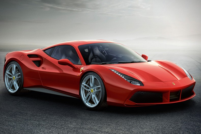 The new Ferrari 488 GTB 2016 photos