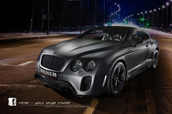 The unique Bentley Continental GT photo 1