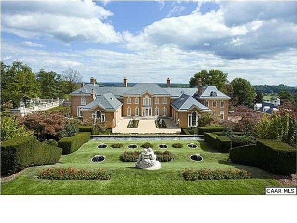 Top 20 Most Expensive Homes In The World - Albemarle House, Charlottesville, Virginia
