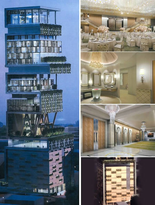 Top 20 Most Expensive Homes In The World - Antilla, Mumbai -  billion
