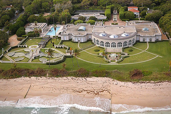 Top 20 Most Expensive Homes In The World - Maison de L'Amitie, Palm Beach, Florida
