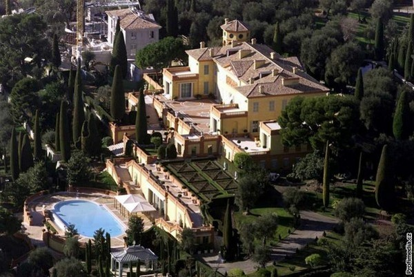 Top 20 Most Expensive Homes In The World - Villa Leopolda, French Riviera, France