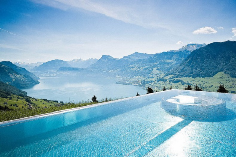 top 20 most beautiful hotel swimming pools in the world 2015 luxury pictures. Black Bedroom Furniture Sets. Home Design Ideas