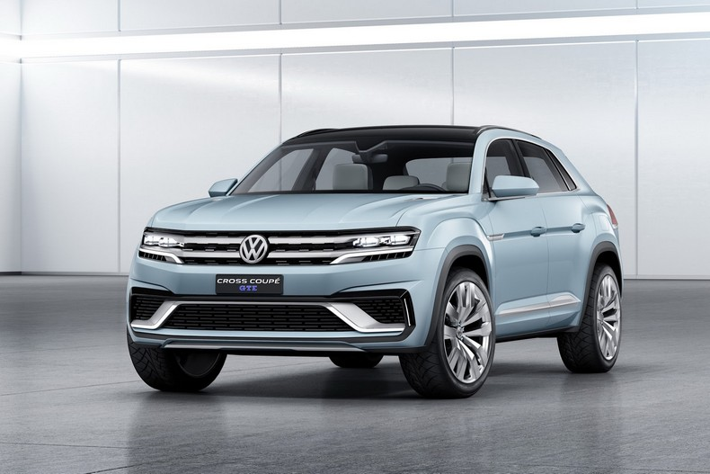 Volkswagen Cross Coupe GTE Concept, 2015