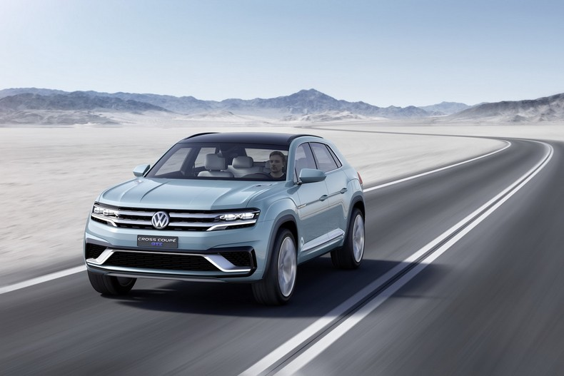 Volkswagen Cross Coupe GTE Concept, 2015 photo 10