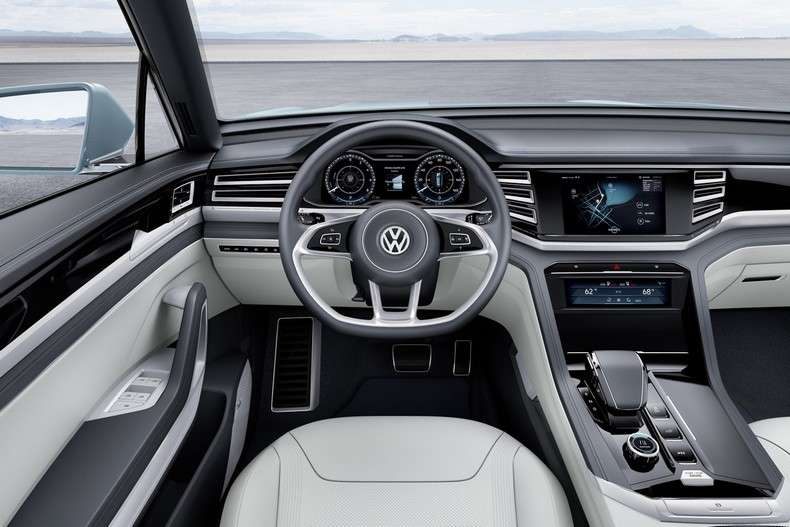 Volkswagen Cross Coupe GTE Concept, 2015 - Interior