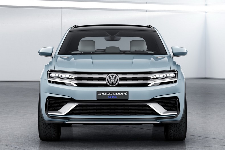 Volkswagen Cross Coupe GTE Concept, 2015 photo 2