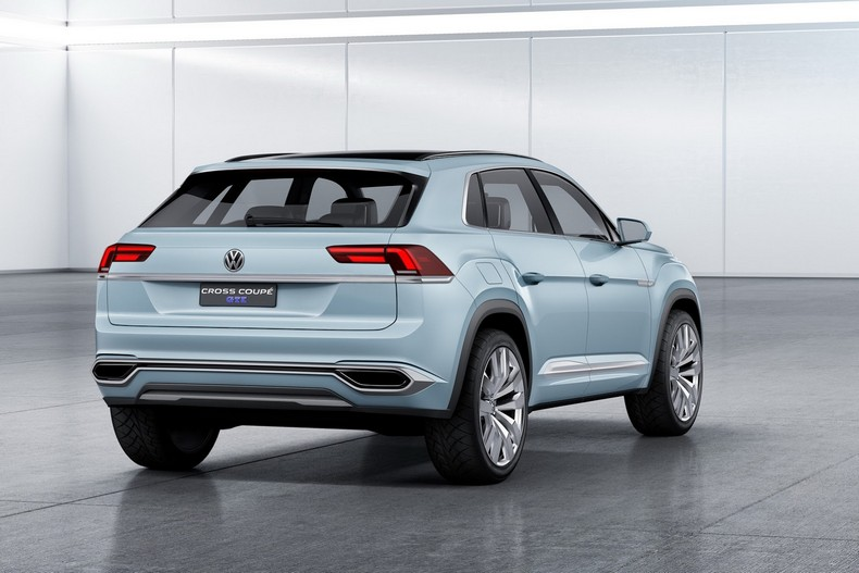 Volkswagen Cross Coupe GTE Concept, 2015 photo 4