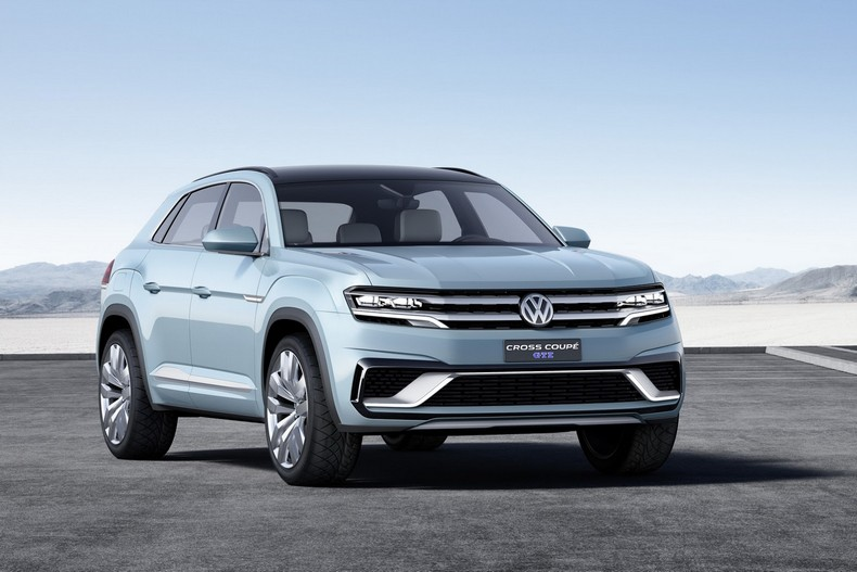 Volkswagen Cross Coupe GTE Concept, 2015 photo 6