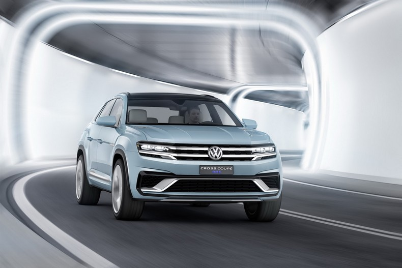 Volkswagen Cross Coupe GTE Concept, 2015 photo 8