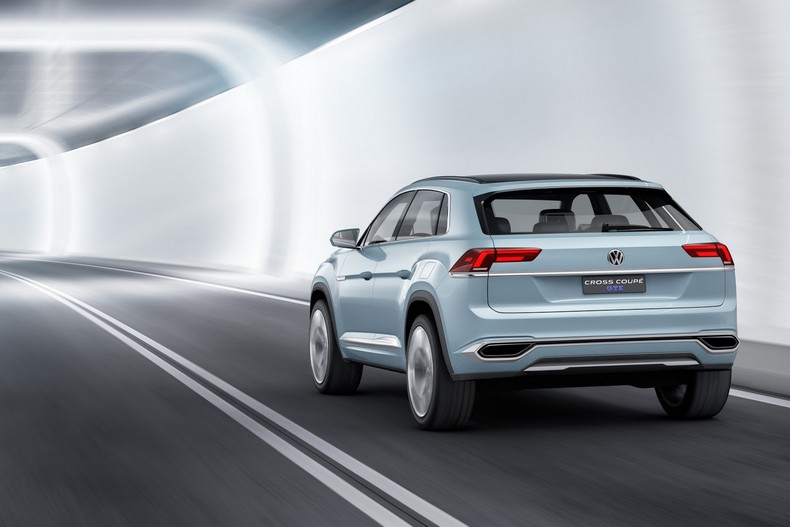 Volkswagen Cross Coupe GTE Concept, 2015 photo 9