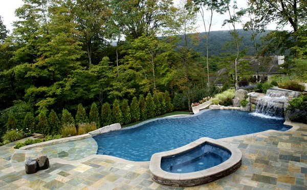 Luxury Inground Swimming Pools By Cipriano Landscape Design