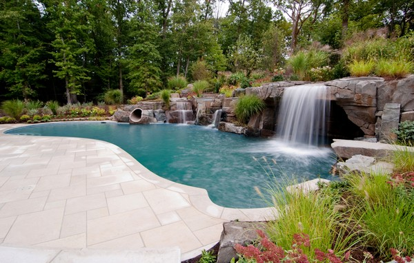 custom-swimming-pool-w-slide-grotto-waterfalls-nj
