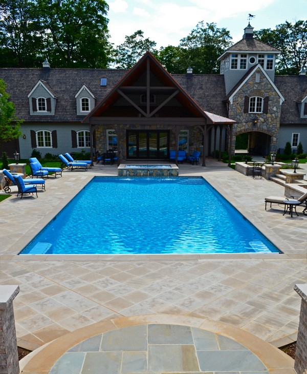 luxury inground swimming pools by cipriano landscape design luxury
