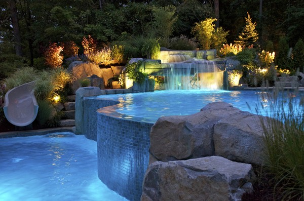 vanishing-edge-inground-swimming-pool-custom-waterfalls-nj