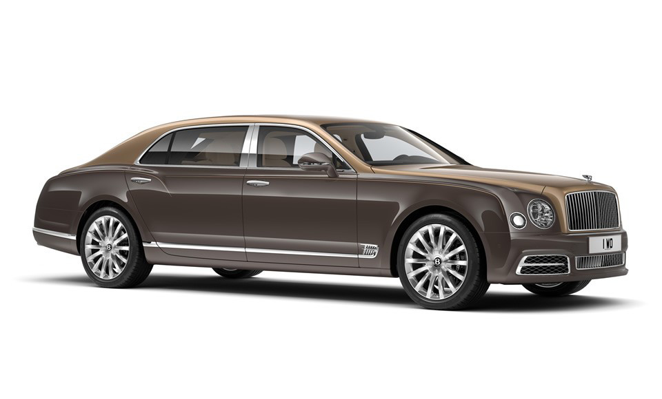 Luxury Cars - Bentley Mulsanne First Edition 2