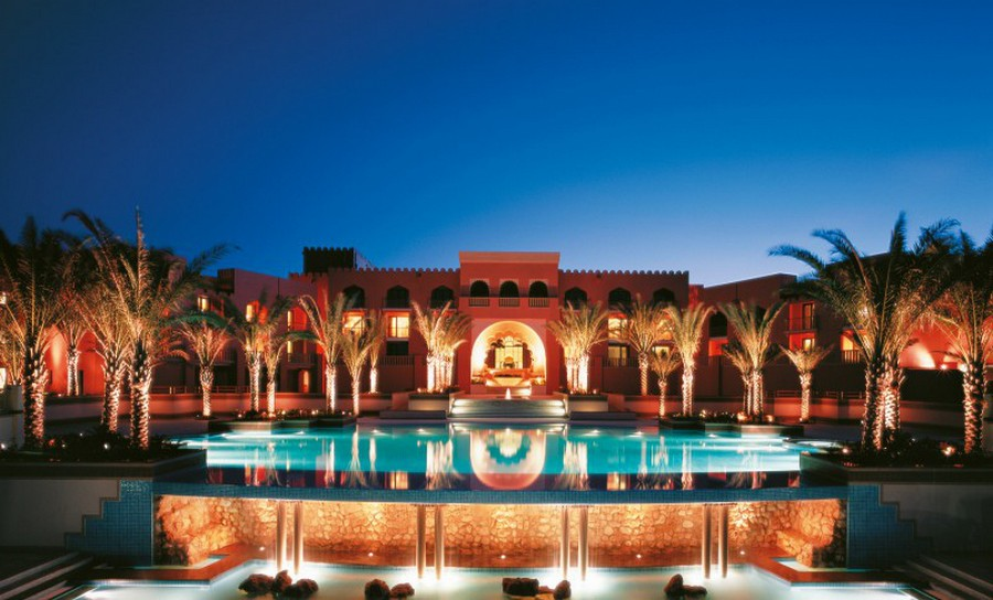 Luxurious Barr Al Jissah Resort & Spa Al Husn in Muscat, Oman