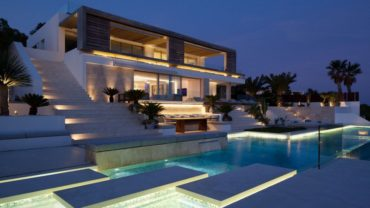 Fabulous beach villa in Ibiza, Spain
