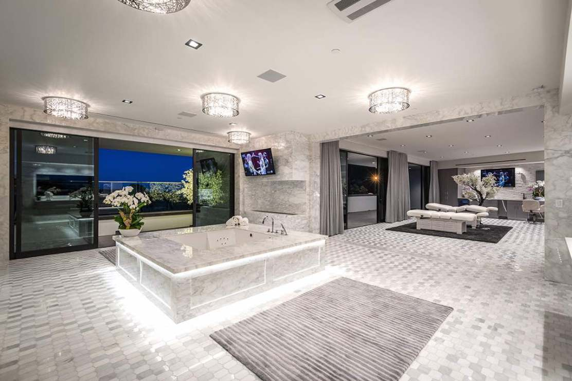 This Impressive Bel Air Mansion The Holiday Paradise Of